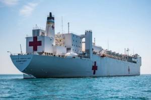 美军大型医疗船抵达纽约救援为何不让新冠患者上船医治